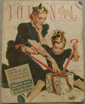 "Primary view of object titled '[""Journal"" magazine cover December 1939]'."