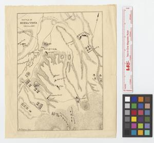 Primary view of object titled 'Battle of Buena Vista, Feb. 22nd 1847.'.