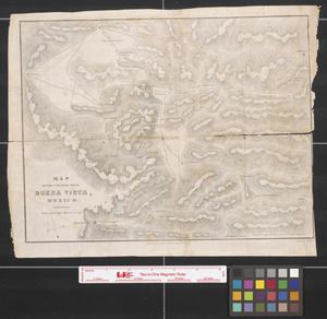 Primary view of object titled 'Map of the country near Buena Vista, Mexico.'.