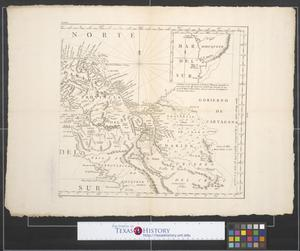 Primary view of [Map of southern Panama and northern Colombia]