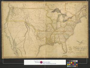 Primary view of United States of America corrected & improved from the best authorities.