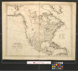 Primary view of A general map of North America drawn from the best surveys.