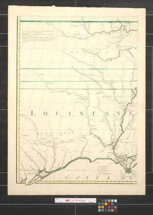 Primary view of Amerique septentrionale avec les routes, distances en milles, villages et etablissements [Sheet 5].