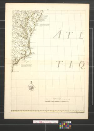 Primary view of Amerique septentrionale avec les routes, distances en milles, villages et etablissements [Sheet 7].