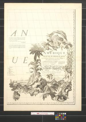 Primary view of Amerique septentrionale avec les routes, distances en milles, villages et etablissements [Sheet 8].
