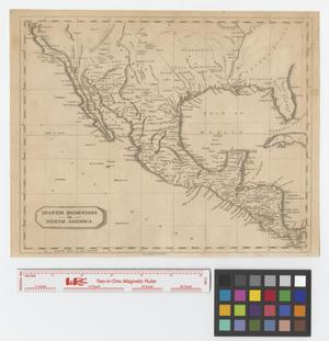 Primary view of object titled 'Spanish Dominions in North America.'.