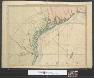 Primary view of object titled 'The western coast of Louisiana and the coast of New Leon .'.
