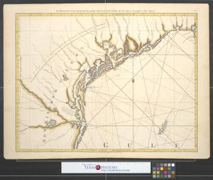 Primary view of object titled 'The Western Coast of Louisiana and the Coast of New Leon.'.