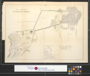 Primary view of object titled 'Plan Accompanying Gen. Quitman's Report.'.