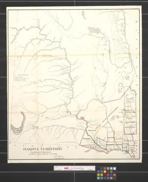 Primary view of object titled 'Dakota territory.'.