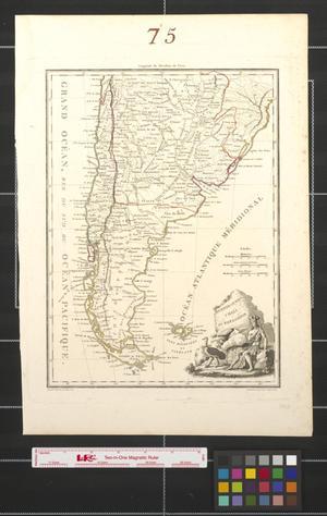 Primary view of Buenos-Ayres [sic.], Chili, et Patigonie [sic.].