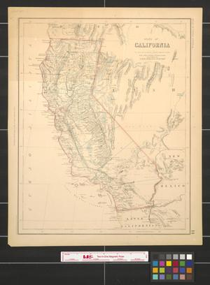 Primary view of object titled 'State of California.'.