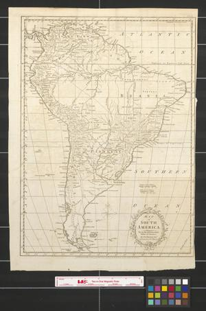 Primary view of Map of South America for the Rev. Dr. Robertson's History of America.