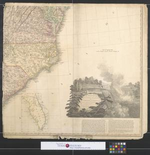 Primary view of object titled 'A map of the United States of North America. [Sheet 3]'.