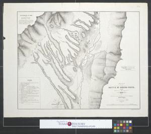 Primary view of object titled 'Plan of the battle of Buena-Vista fought February 22nd and 23rd, 1847.'.