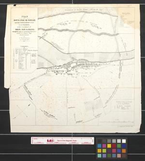 Primary view of object titled 'Plan of Santa-Cruz de Rosales & of the operations of the U.S. troops under command of Brig. Gen. S. Price during the siege and storming of the place, on the 16th of March, 1848 .'.