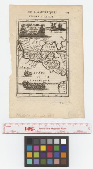 Primary view of Mexique ou Nouvelle Espagne.
