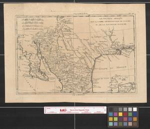 Primary view of Le nouveau Méxique avec la partie septentrionale de l'ancien, ou, de la Nouvelle Espacne [i.e. Espagne].