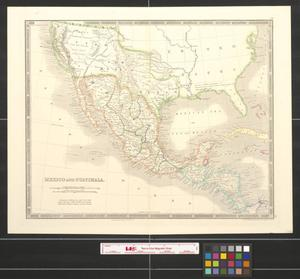 Primary view of object titled 'Mexico and Guatimala [sic].'.