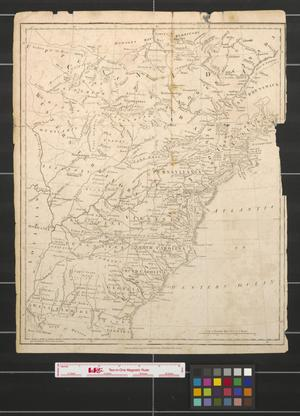 Primary view of object titled '[Eastern United States and Western Territory]'.