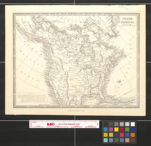 Primary view of North America.