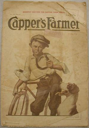 "Primary view of object titled '[""Capper's Farmer"" magazine]'."