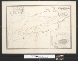 Primary view of object titled 'Map of the seat of war: Gen Taylor's field of operations in Mexico.'.