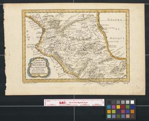 Primary view of Carte de l'Empire du Mexique.