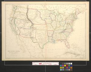 Primary view of object titled 'The United States of North America: General Map.'.
