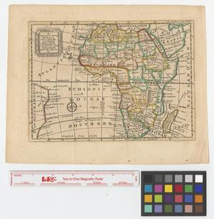 Primary view of object titled 'An accurate map of Africa drawn from the best modern maps & charts and regulated by astronoml. observatns.'.