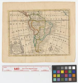 Primary view of object titled 'An accurate map of South America drawn from the best modern maps & charts and regulated by astronl. observatns.'.