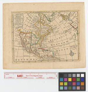 Primary view of object titled 'An accurate map of North America drawn from the best modern maps and charts, and regulated by astron'l. observatns.'.