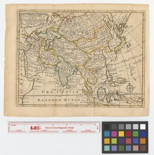 Primary view of object titled 'An accurate map of Asia drawn from the best modern maps & charts and regulated by astronoml. observatns.'.