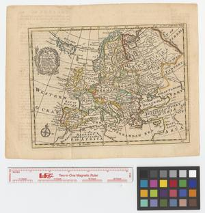 Primary view of object titled 'An accurate map of Europe drawn from the best modern maps & charts and regulated by astronoml. observatns.'.