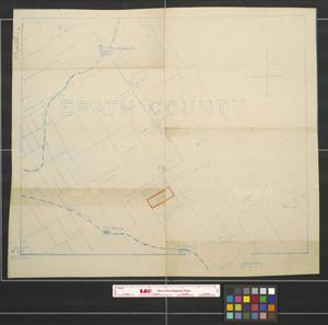 Primary view of object titled 'Erath county.'.