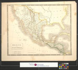 Primary view of Mexico, and Guatimala : Corrected from original information communicated by Simon A.G. Bourne, Esq.