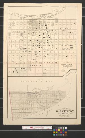 Primary view of object titled 'City of Galveston, Texas.'.