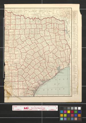 Primary view of object titled 'Texas [Sheet 2].'.