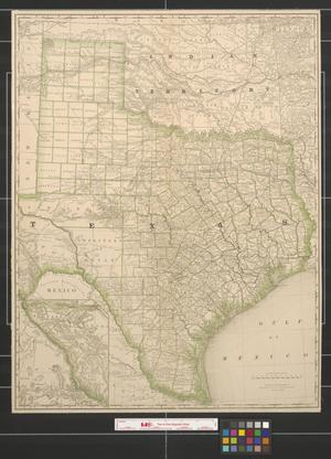 Primary view of object titled 'Texas and Indian Territory.'.