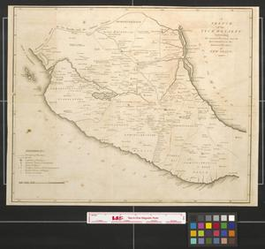 Primary view of object titled 'A sketch of the Vice Royalty exhibiting the several Provinces and its aproximation to the internal Provinces of New Spain.'.