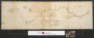 Primary view of object titled 'Map of the Mississippi River from its source to the mouth of the Missouri laid down from the notes of Lieutt. Z. M. Pike by Anthony Nau.'.