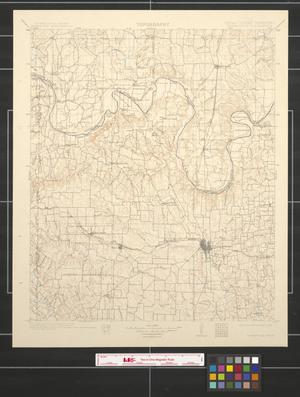 Primary view of object titled 'Texas - Indian Territory: Gainesville quadrangle.'.