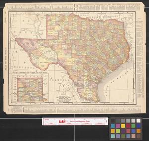 Primary view of object titled 'Rand McNally & Co.'s new 11 x14 map of Texas.'.