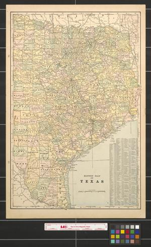 Primary view of object titled 'Eastern half of Texas.'.