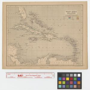 Primary view of object titled 'West India Islands.'.