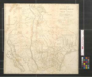 Primary view of object titled 'A map of the internal provinces of New Spain: The outlines are from the sketches of, but corrected and improved by Captain Zebulon M. Pike, who was conducted through that country, in the year 1807 by order of the Commandant General of those provinces.'.