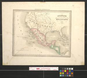 Primary view of object titled 'Confederazione Messicana.'.