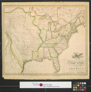 Primary view of object titled 'United States of America : Compiled from the latest & best authorities.'.