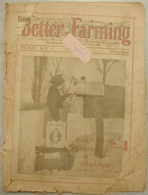 "Primary view of object titled '[""Better Farming"" magazine Vol XLIV]'."