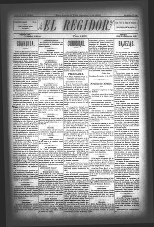 El Regidor. (San Antonio, Tex.), Vol. 6, No. 228, Ed. 1 Saturday, August 12, 1893